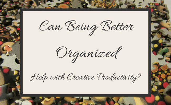 Can Being Better Organized Help with (1)