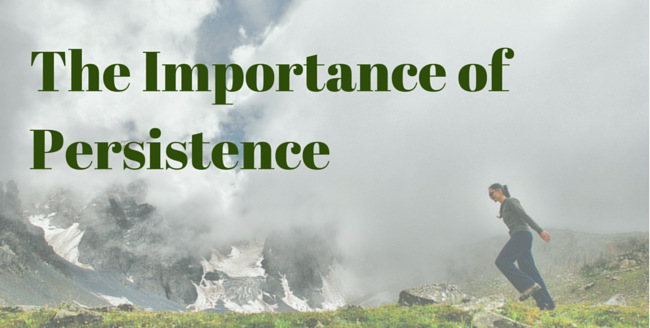 The Value of Persistence