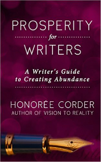 Prosperity for Writers, by Honorée Corder, Cover
