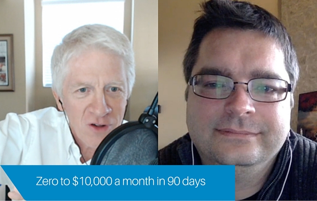 Zero to $10,000 per month in 90 days
