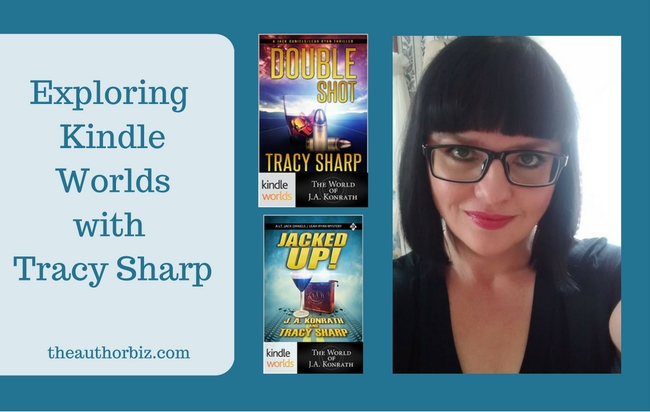 Kindle Worlds with Tracy Sharp