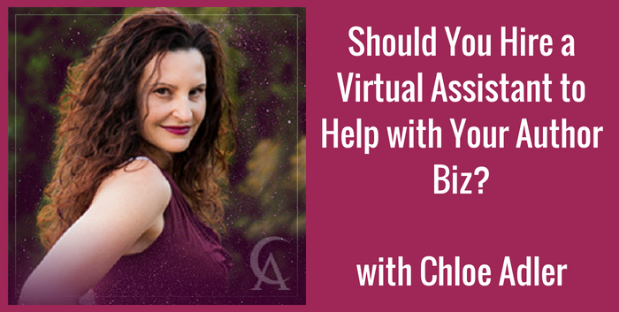 TAB137: Should You Hire a Virtual Assistant to Help with Your Author Biz?